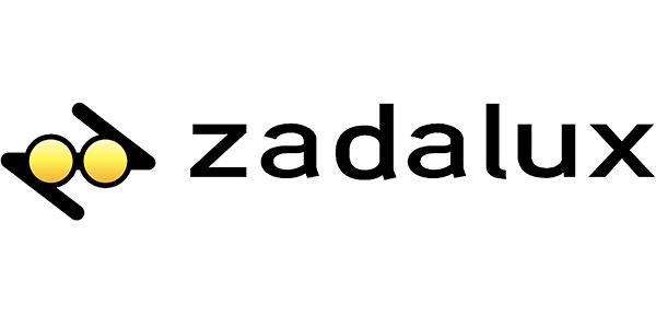 Logo Zadalux, occhiali da sole e da vista Made in Italy